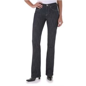 Wrangler Aura Instantly Slimming Bootcut Jeans, 6